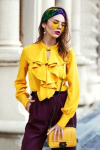 5 stylizacji, do których możesz nosić żółtą torebkę damską!
